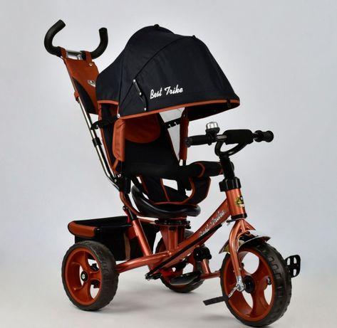 Трёхколёсный велосипед детский Best Trike 6588 5700 6570 усиленная рам