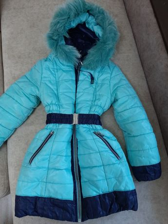 Курточка зимння 6-7лет