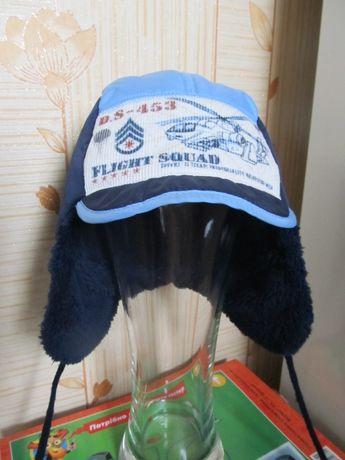 Тепла фірмова шапочка David's Star розмір 48 см
