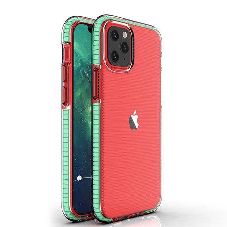 Capa Silicone Lmobile Spring Iphone 12 Mini - Verde Menta