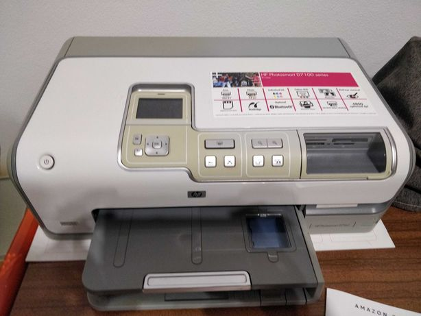 Impressora HP Photosmart D7 100 e tinteiros