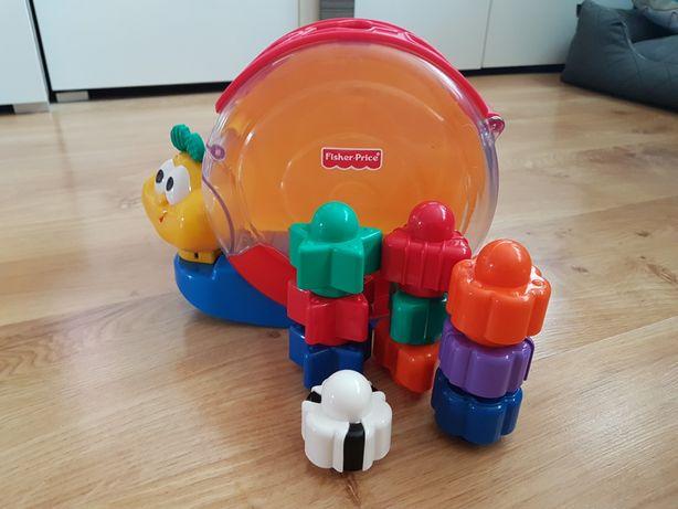 Zabawka ślimak Fisher Price