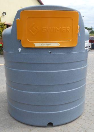 Dwupłaszczowy zbiornik do paliwa ON OLEJ NAPĘDOWY 2500 L - DOSTAWA