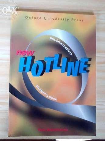 """""""New Hotline pre - intermediate"""" Hutchinson"""
