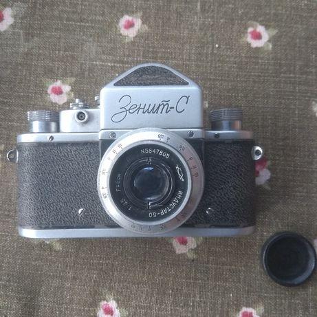 Фотоапарат Зенит-С. Раритетний фотоапарат.