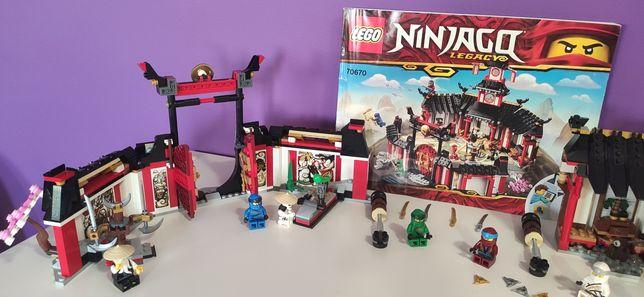 Set legos Ninjago templo
