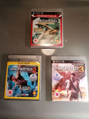Jogos Uncharted PS3