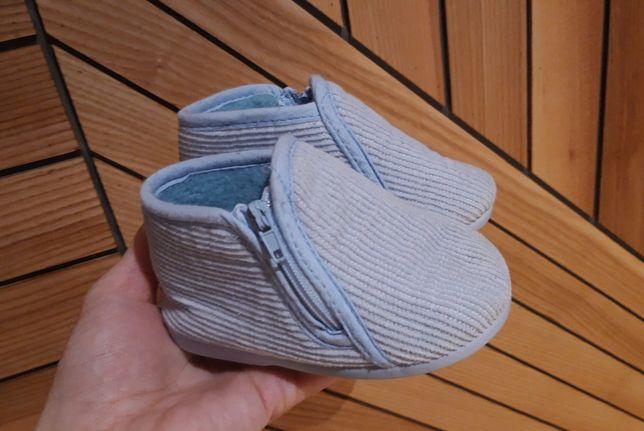 Домашние тапочки тапки пинетки топики чопики 20 р. 12 см утеплённые