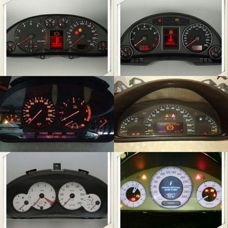 Quadrantes - Mercedes/ BMW/ VW/Audi A3 A4 A6 /Renault/ Scenic/Peugeot