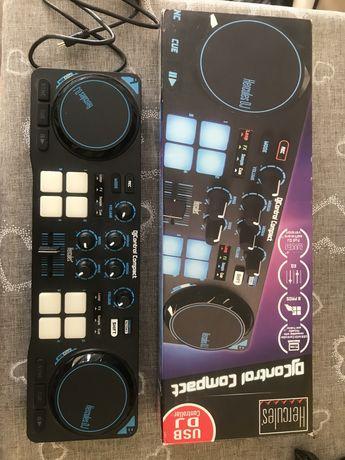 Konsola DJ Hercules dj control compact