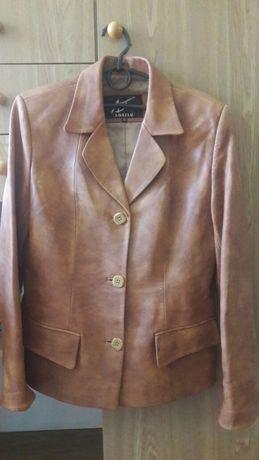 Кожаний піджак жіночий