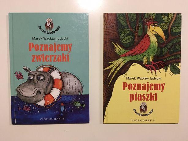 Zestaw - 2 nowe książki / książeczki zwierzeta ptaszki