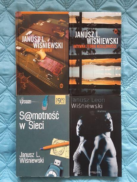 Janusz L. Wiśniewski, cztery książki, super stan!