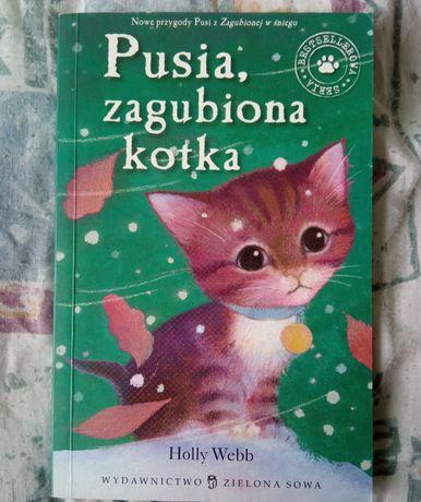 """""""Pusia zaginiona kotka"""" książka dla dzieci"""