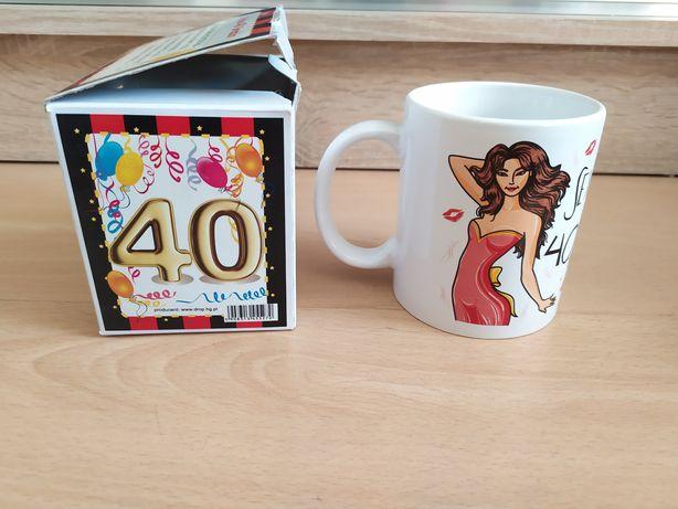 Kubek na 40 urodziny dla kobiety