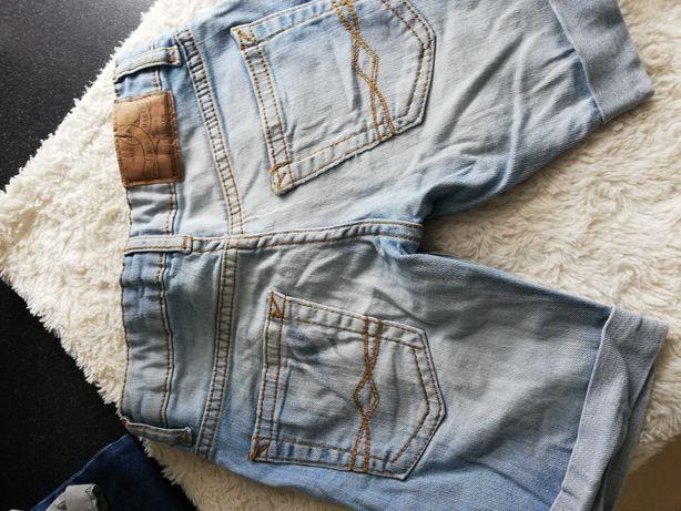Spodenki Zara jeansowe chłopięce