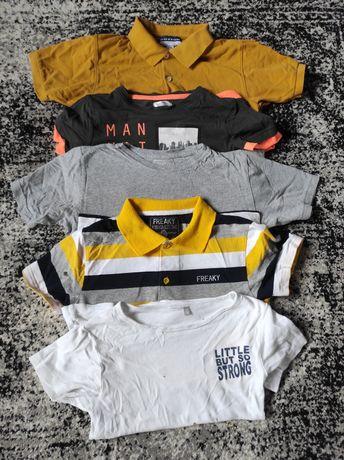Paka ubrań, zestaw koszulek