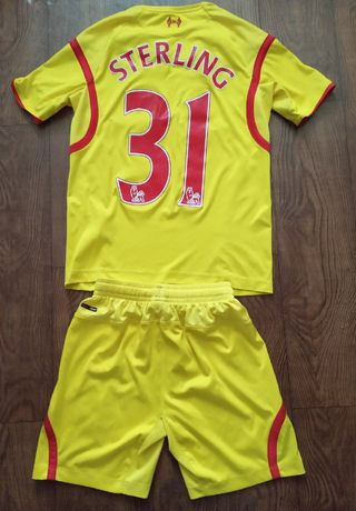 Подростковая футбольная форма футболка Liverpool Warrior Ливерпуль