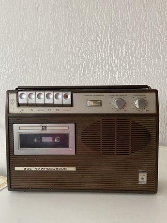 Магнитофон электроника 302