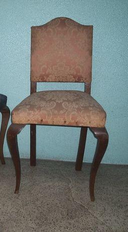 Cadeira antiga Queen Anne
