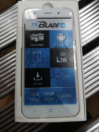 Telefon ZTE Blade V6 biało złoty