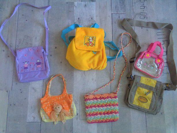Torebka, plecak dla dziewczynki