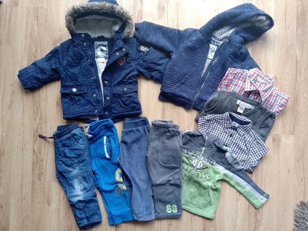 Paczka ubrań dla chłopca 12-18 miesiecy