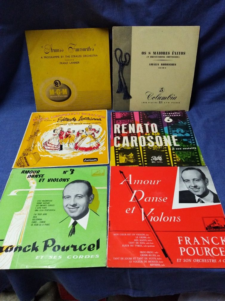Discos Vinil LP antigos.
