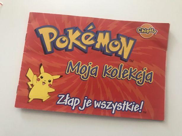 Pokemon naklejki, chipita, chipicao, seria 1 i 2, kolekcja