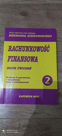 OKAZJA! Rachunkowość Finansowa Zbiór Ćwiczeń pod redakcja Binkowskiego