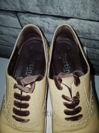 Jazzówki damskie buty włoskie skóra naturalna oryginał 36 made Italy