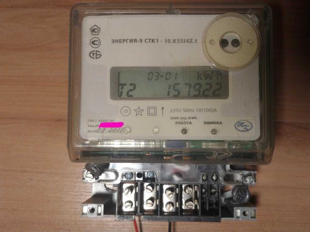 Электросчетчик. Счётчик электроэнергии СТК1 многотарифный Меркурий НИК