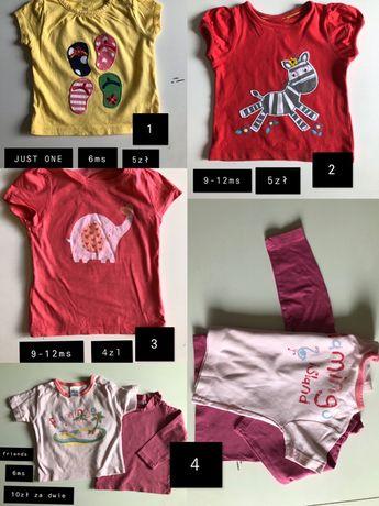 ubranka dla dziewczynki 3miesiace-2lata