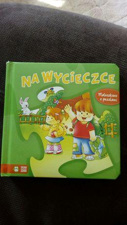 Książeczka z puzzlami dla najmłodszych