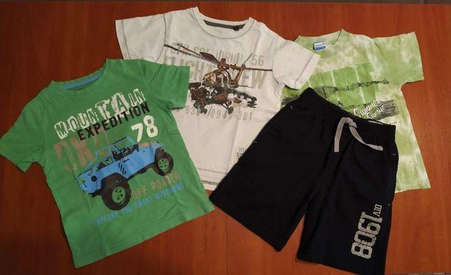 ubrania dla chłopca w wieku 3-4 lat