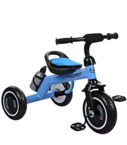 Детский 3 -х колесный велосипед с подсветкой Turbo Trike от 2-х лет