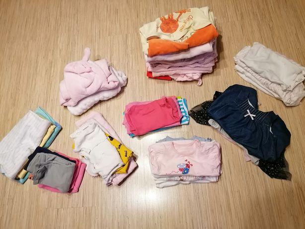 MEGA PAKA ubranka rozmiar 68, 40 sztuk
