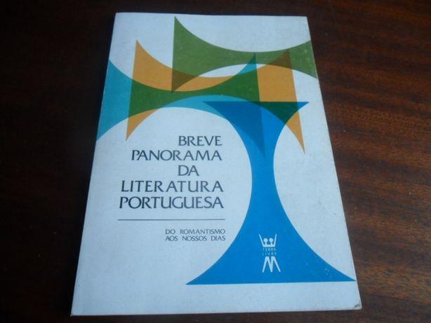 Breve Panorama da Literatura Portuguesa-Do Romantismo aos Nossos Dias