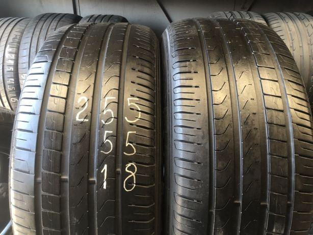 Шини/резина R18-255-55 Pirelli Skorpion Verde,стан 80%