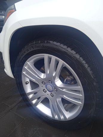 Felgi opony 19 5x112 Mercedes glk idealne
