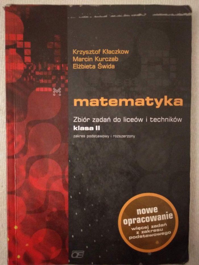 Matematyka zbiór zadań do liceów i techników klasa 2, Kłaczkow/Kurczab Wrocław - image 1