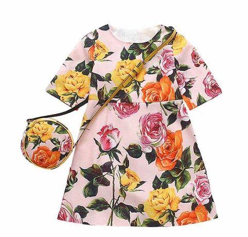 Красивое нарядное платье на маленькую модницу . Новое , из США. 750грн