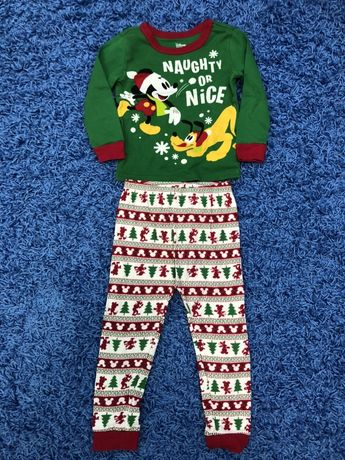 Новогодняя пижама Disney на мальчика