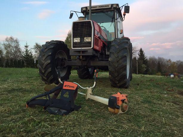 Koszenie kosiarka bijakowa traw, łąk, nieużytków, pól, rowów, skarp