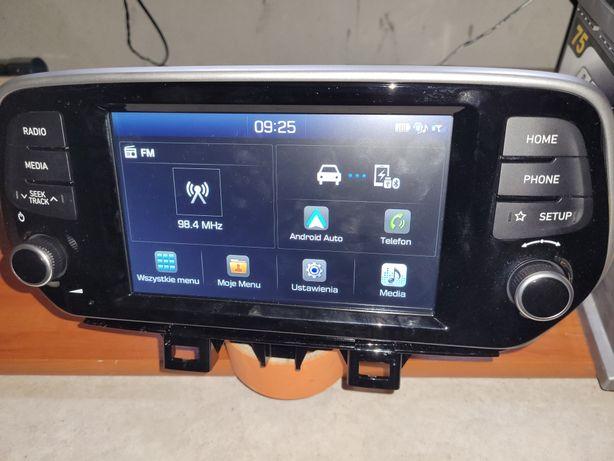 Fabryczne Radio Nawigacja Hyundai Tucson FL na androidzie