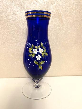 Винтажная ваза для цветов BOGEMIA смальта