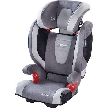 Fotelik samochodowy Recaro Monza Nova Seatfix Grey 15-36Kg