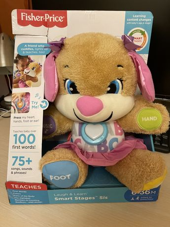 Fisher Price интерактивная игрушка щенок, сестричка