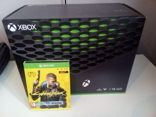 Konsola Xbox series x 1tb.