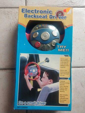 Nowa kierownica dziecięca do samochodu